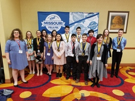 Verona Middle Level Top 10 State  Awards