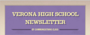 Verona High School Newsletter
