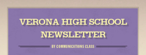 Verona High School Newsletter 3-7-19