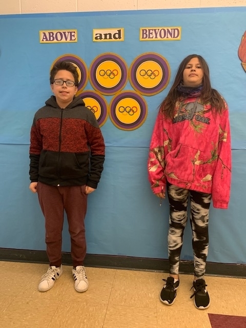 Students of the Week are Katiri Shriver and Alexander Snow! Congratulations!!!