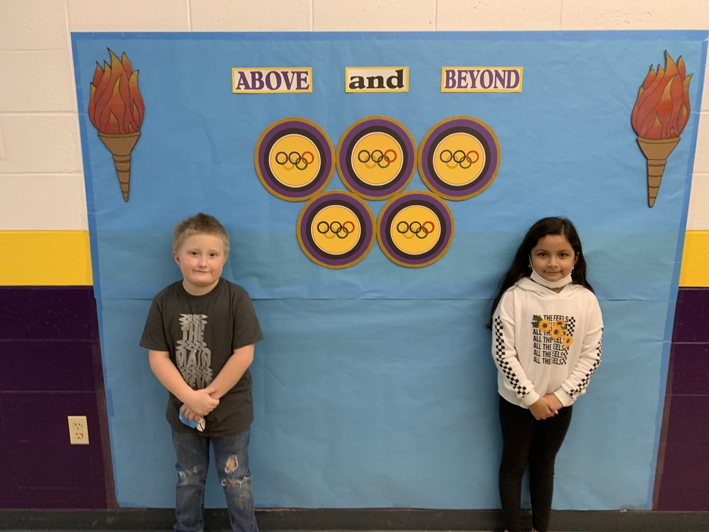 Students of the week are Kamila Reyes and Brian Williams! Congratulations!!!