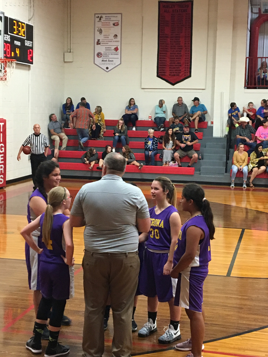 Coach Weiss and the Jr. High Girls