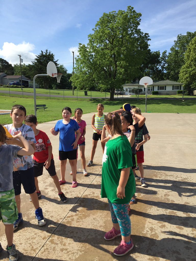 Last day of summer school - Water Day!