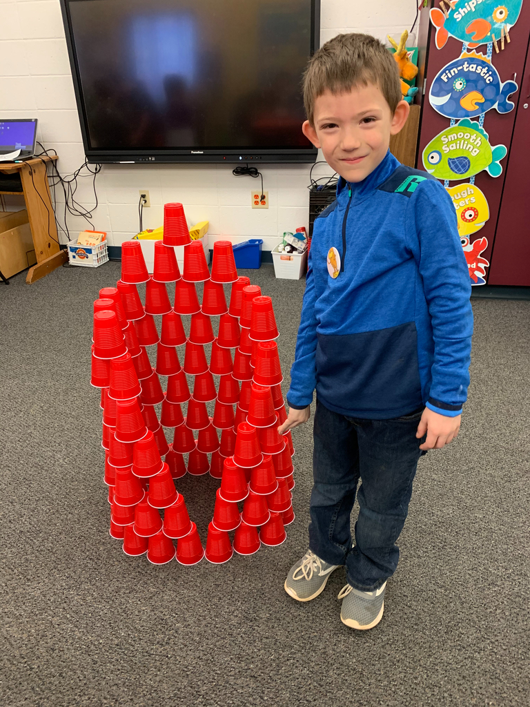 Having 100 cups of fun!