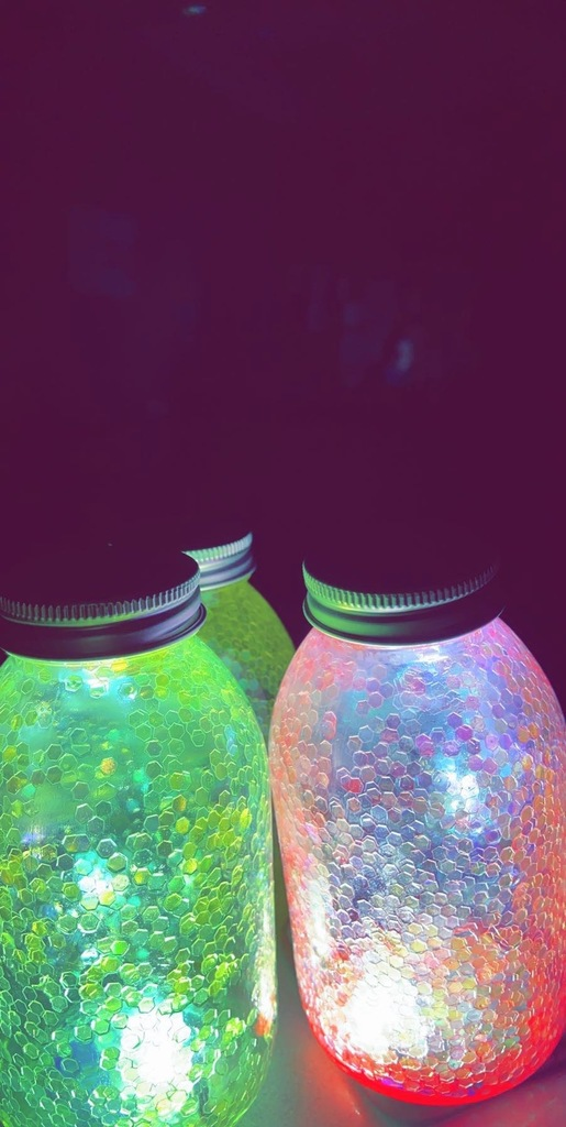 Fairies in a jar---chemi-luminescence