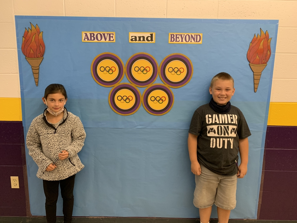 Bella Frias and Gabe Shuman are Verona Elementary Students of the Week!!! Congratulations!!!