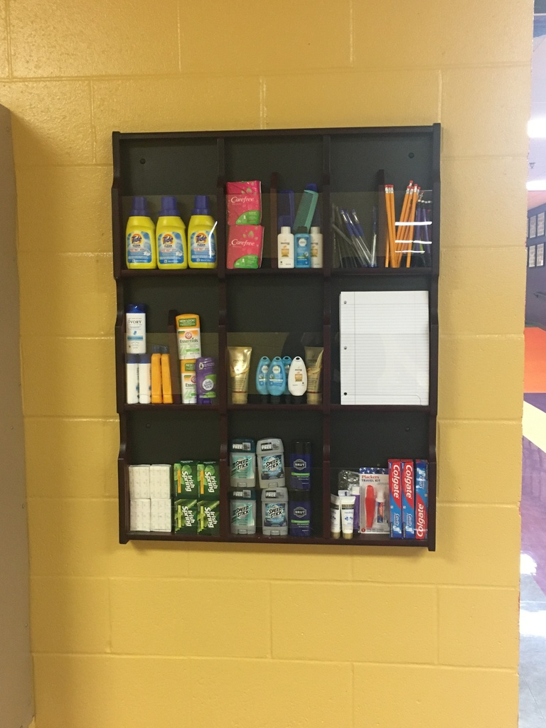 NJHS fills personal and academic care display-free to any student!
