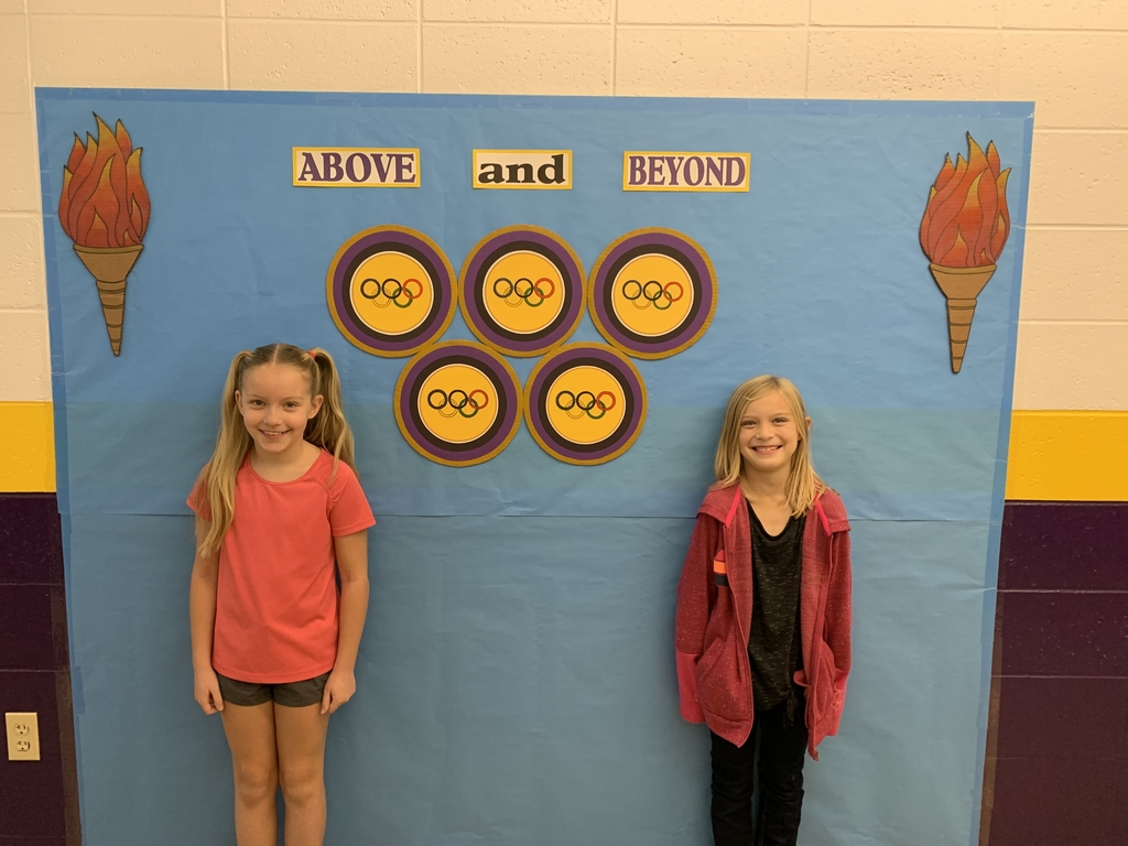 Elementary Students of the week are Tavia Lechner and Sophie Keim! Congratulations!!!